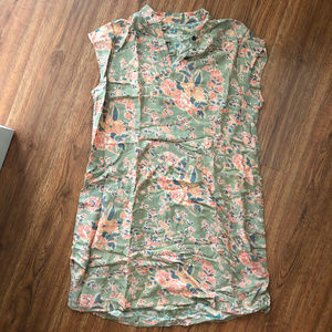 Vintage mid-thigh floral dress